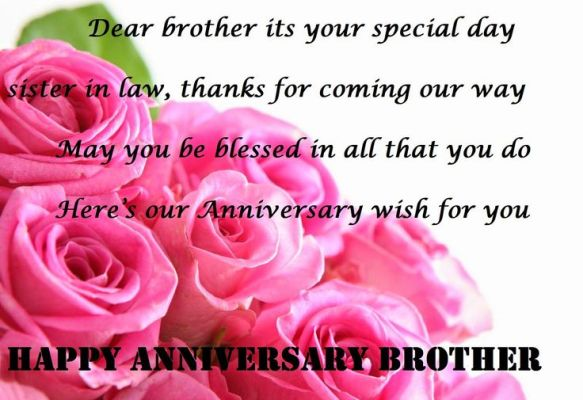 Wedding Anniversary Sms For My Dear Bro Sms Khoj Handpicked Sms For Every Occasion