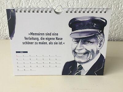 Der Helmut Schmidt Zitate Kalender Zum  Geburtstag Des Beliebten Altkanzlers