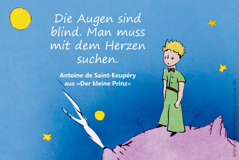 Zitate Spruche Antoine De Saint Exuperys Seite  Der Kleine Prinz