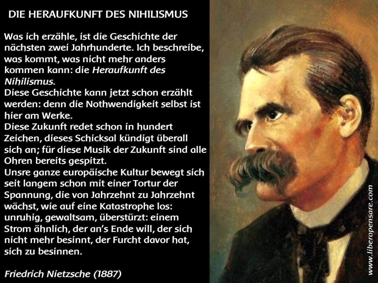 Heraufkunft Des Nihilismus Friedrich Nietzsche