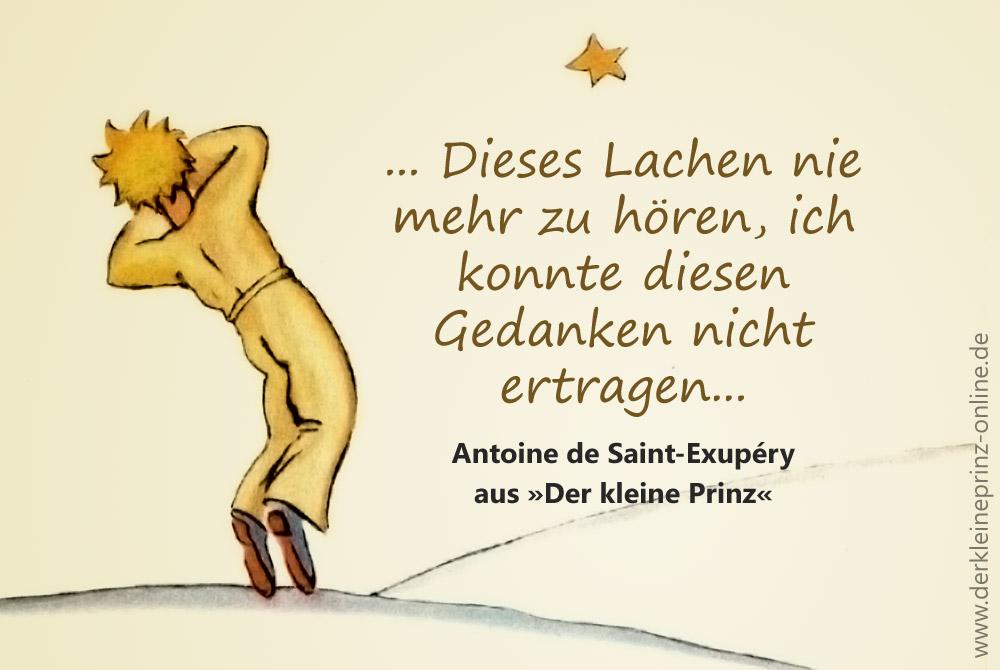 Zitat Bei Dem Gefuhl Des Unvermeidlichen Antoine De Saint Exupery Der Kleine Prinz Online