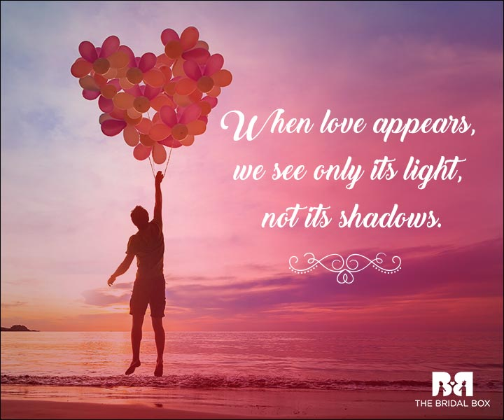 Emotional Love Quotes Light And Shadows