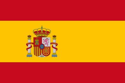 Spanische Fahne