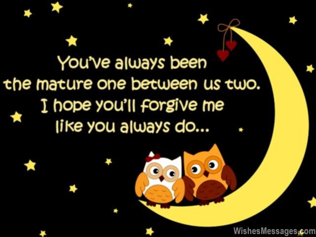 Funny Cute Apology Quote For Sweet Heart I Am Sorry