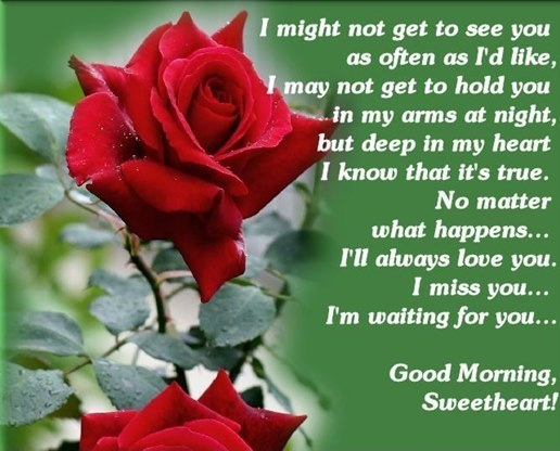 Good Morning Love Quotes I Miss You Sweet Heart Good Morning