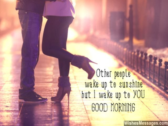 Good Morning Quote For Him You Are My Sunshine Message
