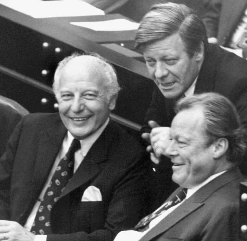 Als Bundesfinanzminister   Arbeitete Er Eng Mit Dem Damaligen Ausenminister Walter Scheel