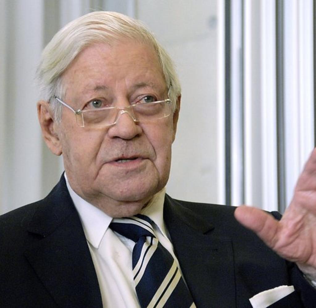 Spd Politiker Mehrfacher Bundesminister Und Acht Jahre Bundeskanzler Helmut Heinrich Waldemar Schmidt