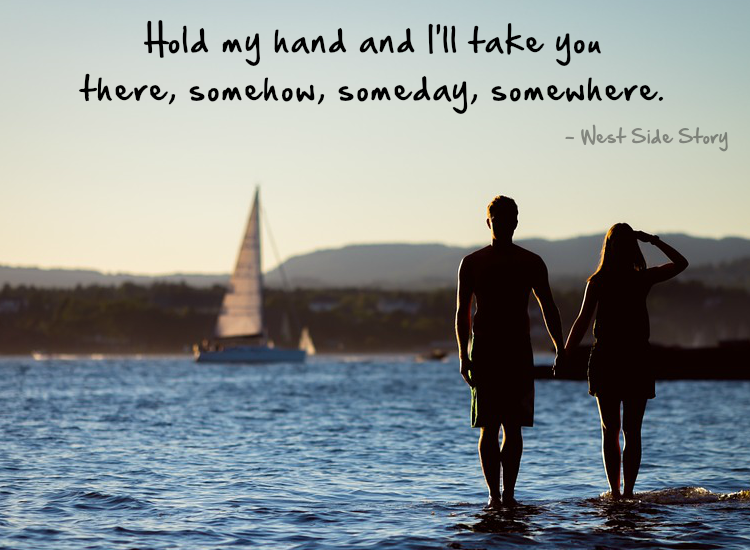 Love Quote Holding Hands