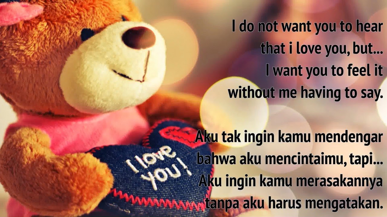 Kata Bijak Cinta Tak Terbalas Bahasa Inggris Katakan Cintamu