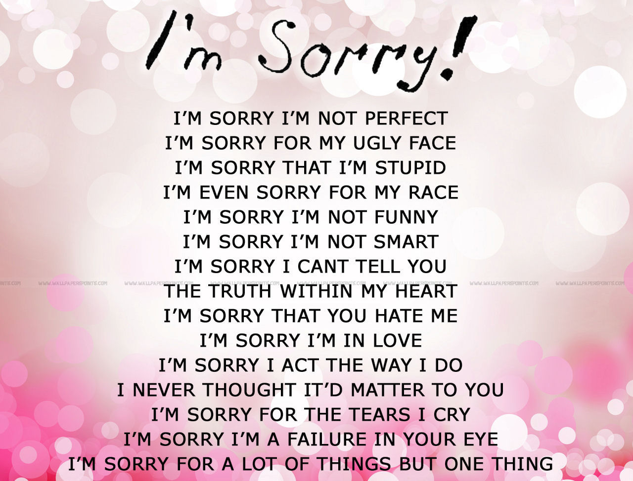Mind Blowing Sorry Quotes Messages