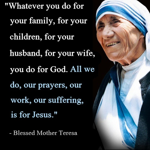 Mother Teresa Picture Quotes Mother Teresa Prayer Quotes