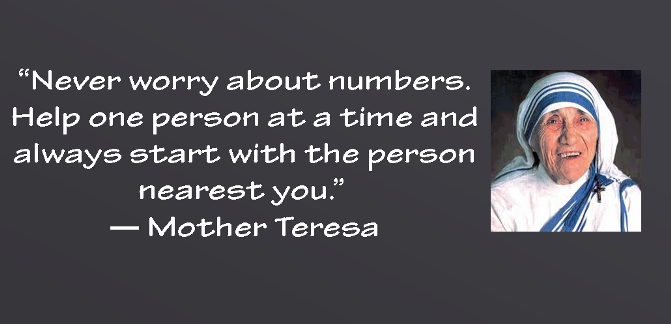 Mother Teresa Quotes On Service To Others