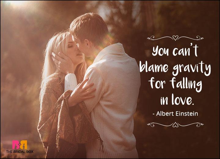 One Line Love Quotes Albert Einstein