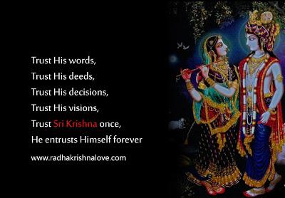 Lord Krishna Quotes Endearing Radha Krishna Love Quotes In Hindi With Images Radha Krishna Love