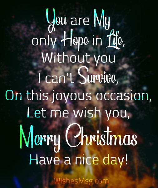 I Love You And I Have No Words To Show I Love You And I Want You To Know On This Special Occasion Of Christmas Merry Christmas