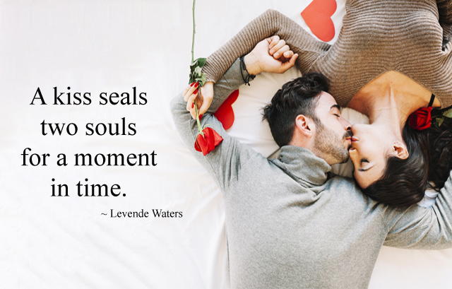Romantic Couple Kissing Images Hd Lip Kiss Images With Quotes