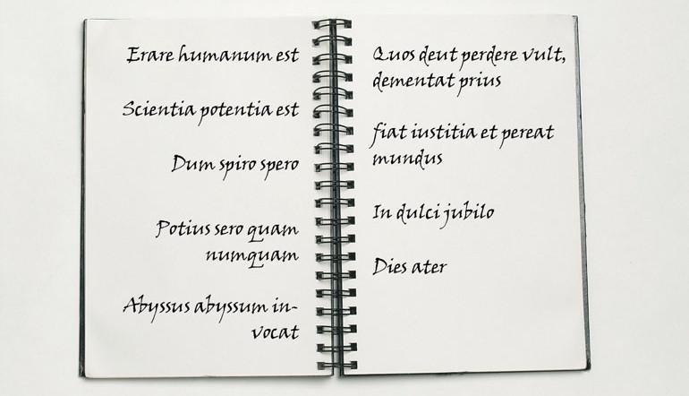 Lateinische Zitate