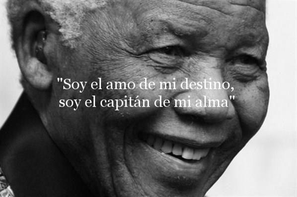 Nelson Mandela Invicutus Combate El Silencio Pelicula Etica Invictus