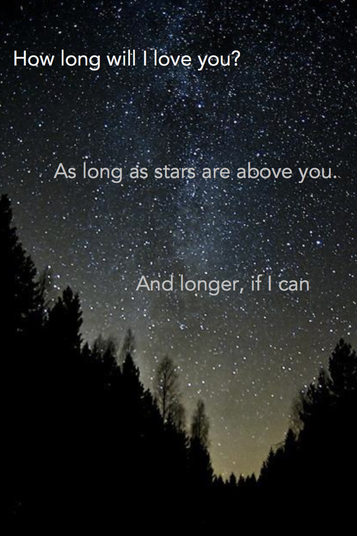 Spend A Night Star Gazing Find This Pin And More On Love Quotes