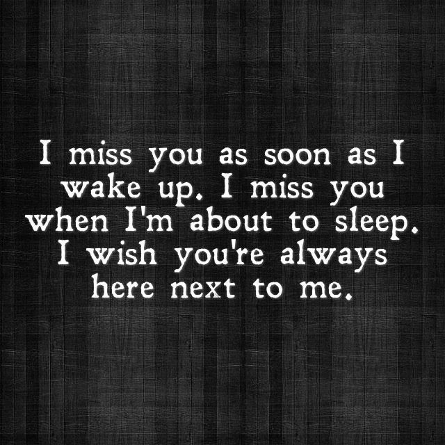 I Miss You Quotes For Him And For Her Quoteshunter