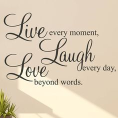 Live Laugh Love Wall Stickers Quotes