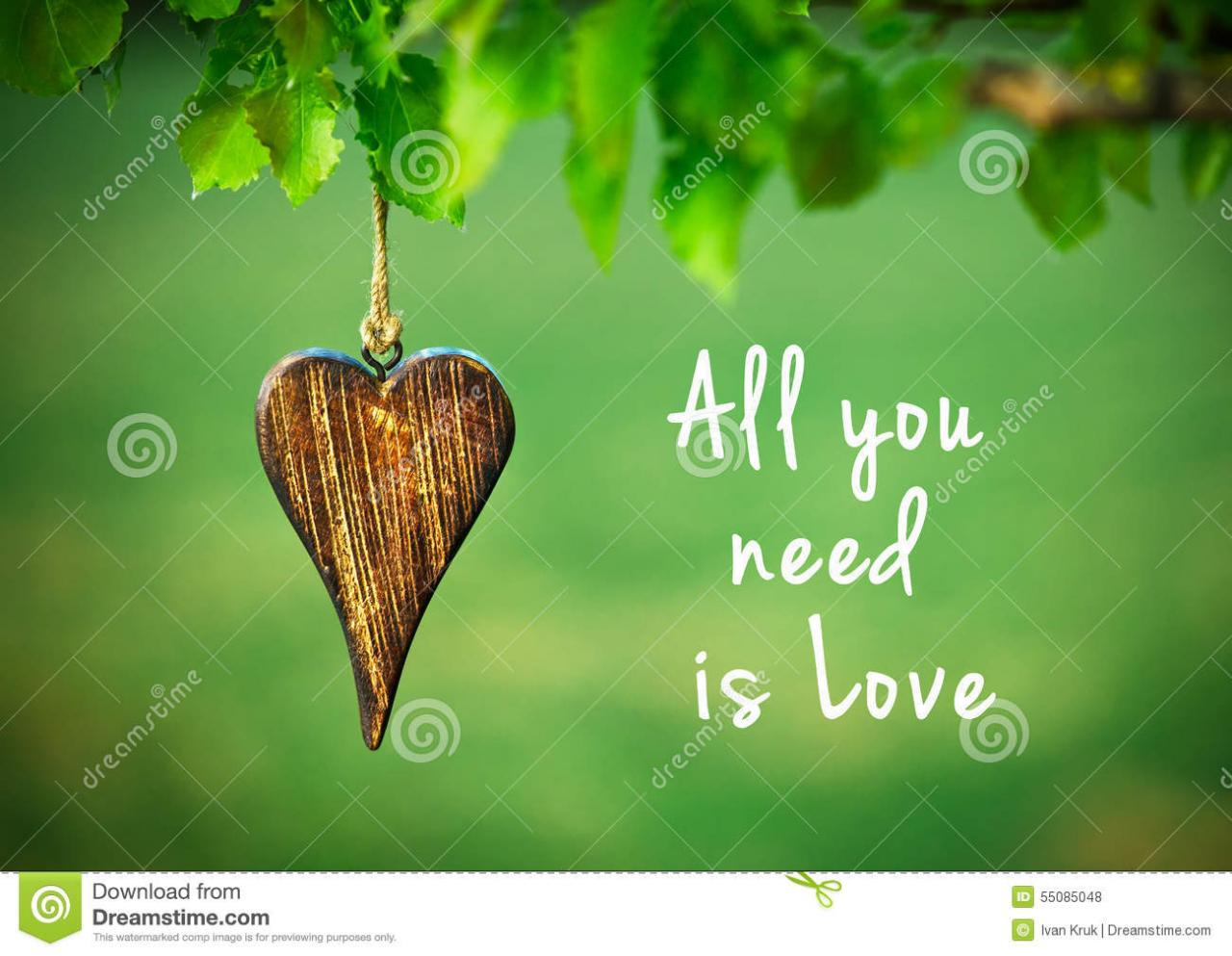 All You Need Is Love Quote