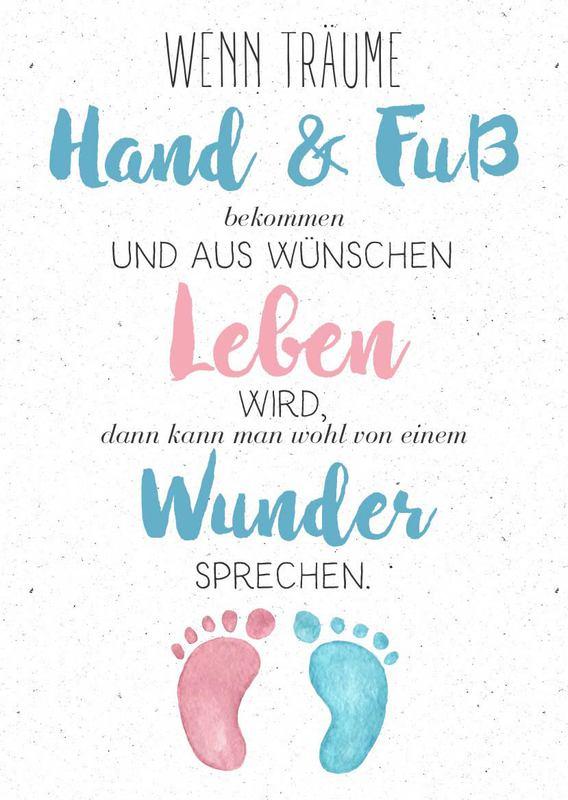Babygruskarten  Schone Kostenlose Spruche  E  A