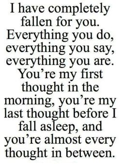 Beautiful Typography Romance I Love You Lovely True Love Everything Love Quotes Romantic Fallen For You