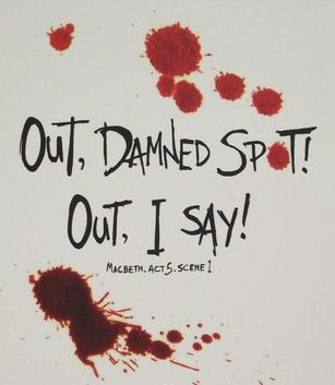 Censorship Of Macbeth Lady Macbeths Famous Cry Out Damned Spot Was  C B Hexelustigeszitatwilliam