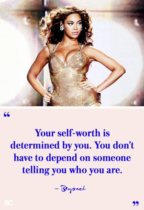 Beyonce Quote Your Self Worth