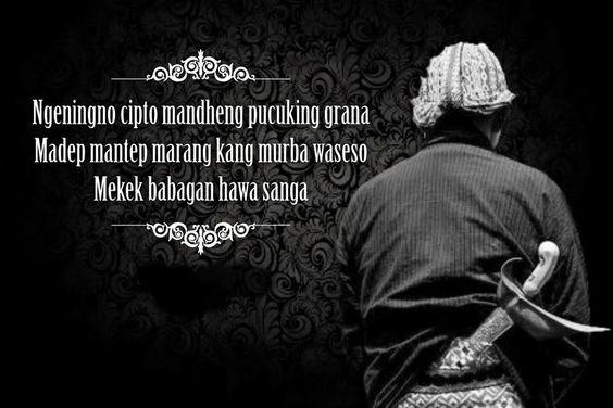 Kata Motivasi Cinta Bahasa Jawa