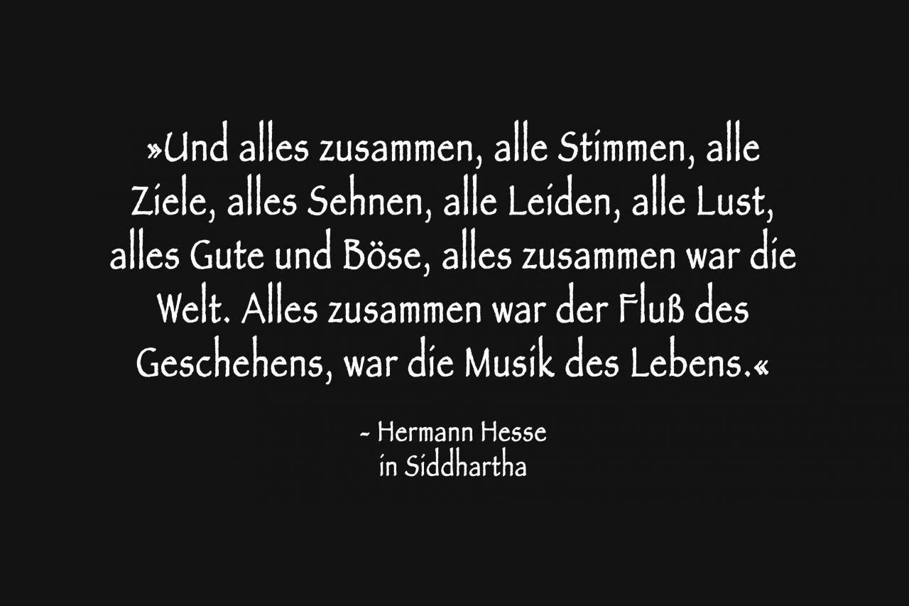 Hermann Hesse In Siddhartha