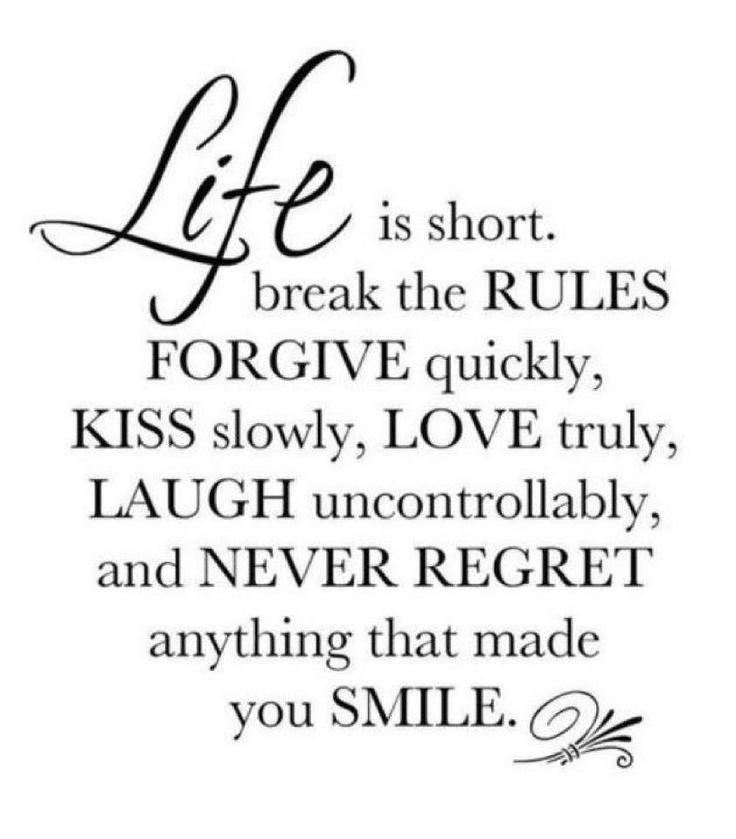 Life Quotes No Regrets