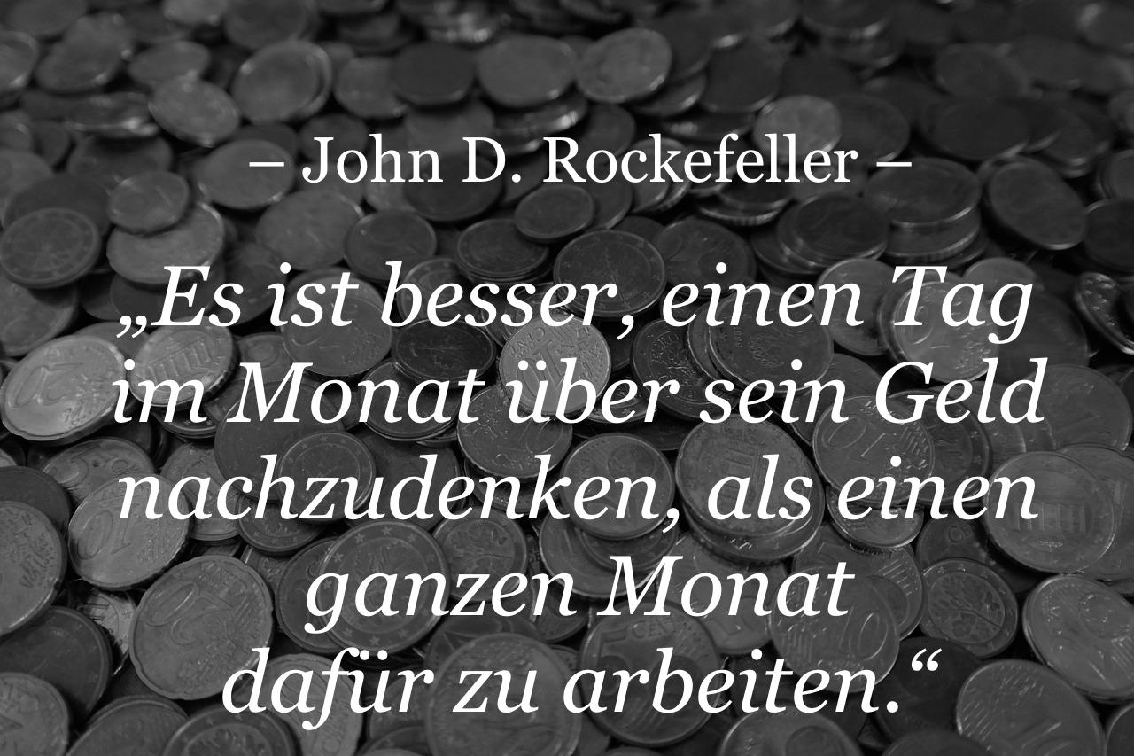 Zitat Rockefeller