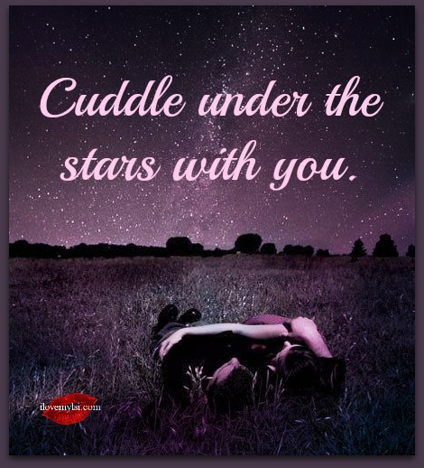 Cuddle Under The Stars With You