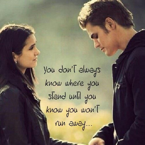 Elena And Stefan The Vampires Diaries