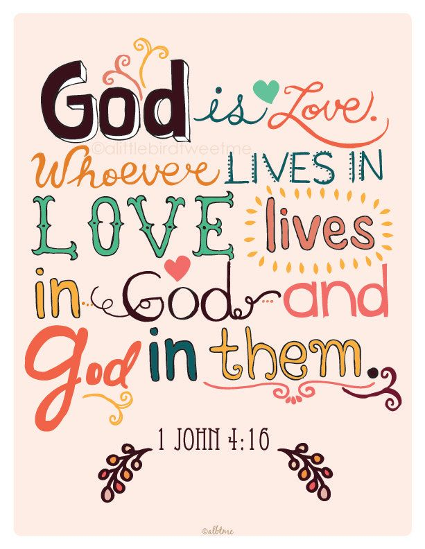 John And So We Know And Rely On The Love Has For Us Is Love Whoever Lives In Love Lives In And In Them