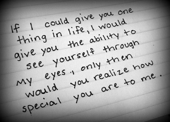 Special And Loved