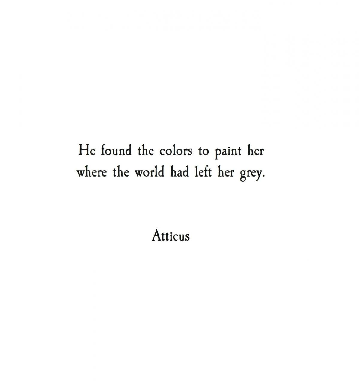 From The Book Love Her Wild Poetry By Atticus