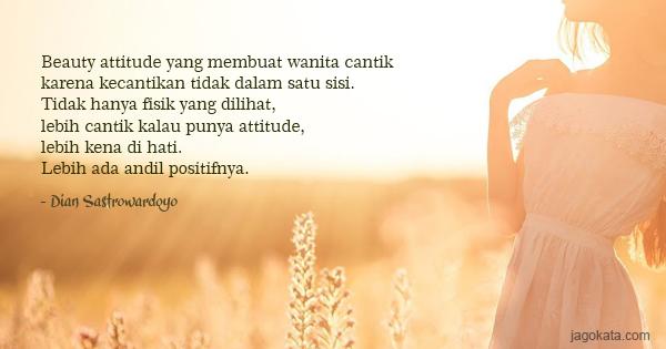 Kata Kata Untuk Wanita Cantik Sederhana