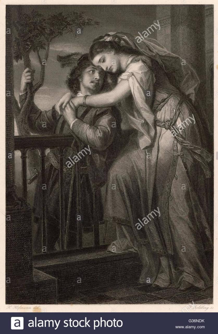 Beruhmte Balkonszene Akt Ii Szene Ii Aus Shakespeares Romeo Und Julia