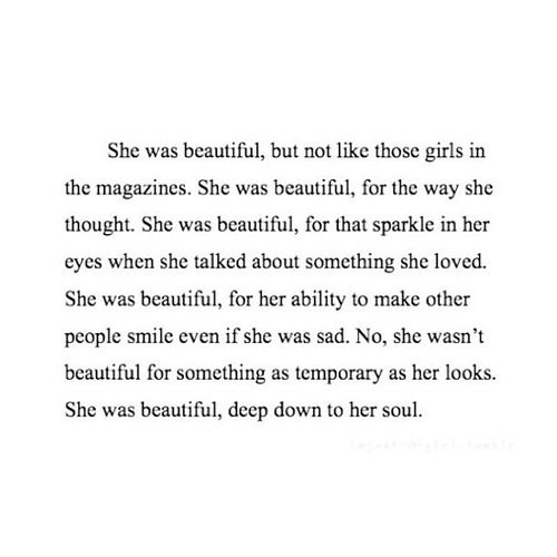 Urgh I Love This So Much It Makes Me Sick Sprinkle Of Glitter Tumblr She Was Beautiful Quotelove