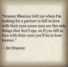 Ed Sheeran Quote Those Eyes Falling In Lovefall
