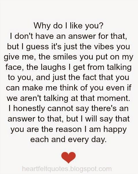 Why Do I Like You  E  A Love Quotes