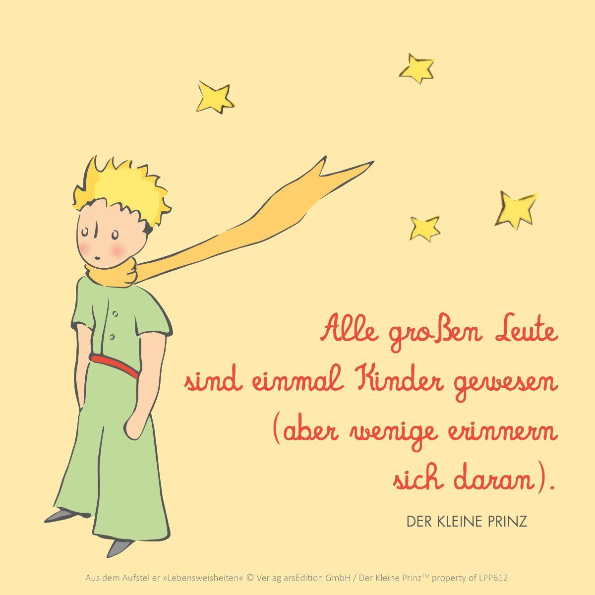 Der Kleine Prinz The Little Prince Zitat Qotd Kinder Geschenkeschatz Arsedition