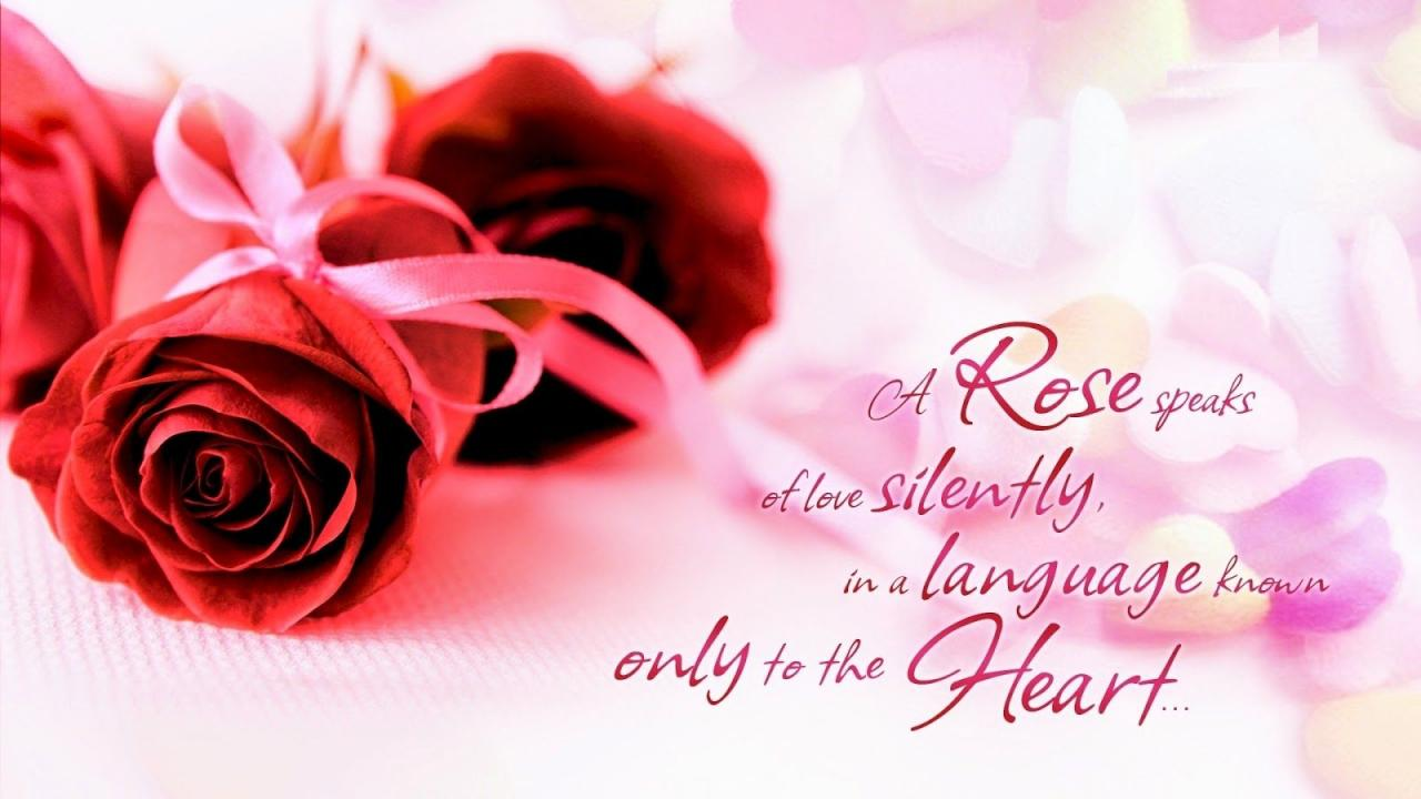 Download Images Of Love Messages Download Beautiful Love Quotes For Her With Rose Flower Images
