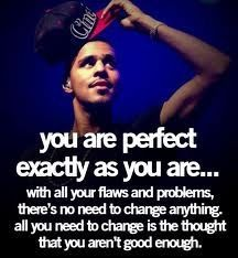 J Cole Quote You Are Perfect