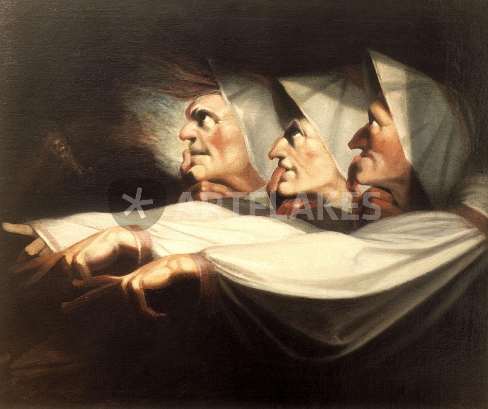 Shakespearemacbeth Hexen Fuessli Bild Als Poster Und Kunstdruck Von Akg Images Bestellen
