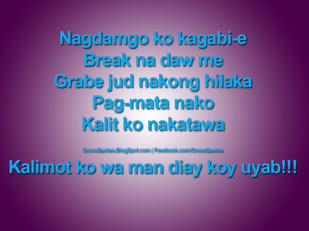 Funny Quotes About Love Bisaya